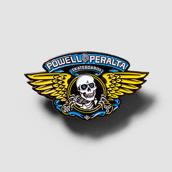 Powell Peralta Winged Ripper 2 Pin Blue