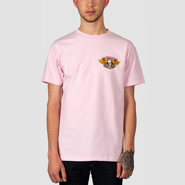 Powell Peralta Winged Ripper Tee Light Pink