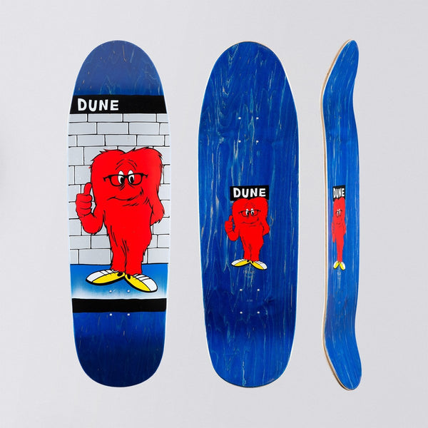 Prime Dune Glasses Gossamer Shaped Deck Blue - 9.38 - Skateboard