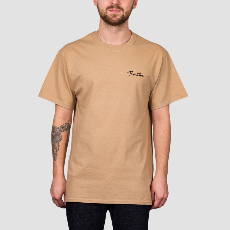Primitive Black Pack Revival Tee Sand