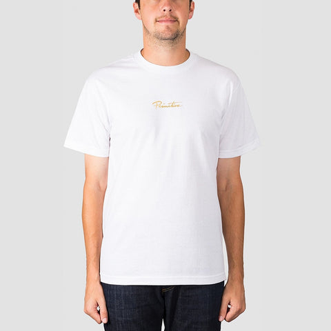 Primitive King Tee White