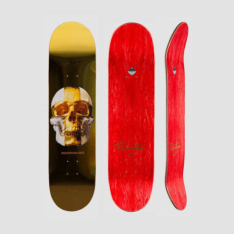Primitive Rodriguez King Deck Gold - 8 - Skateboard