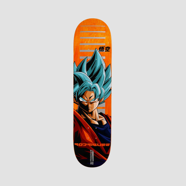 Primitive X Dragon Ball Super Paul Rodriguez SSG Goku Deck Orange - 8""