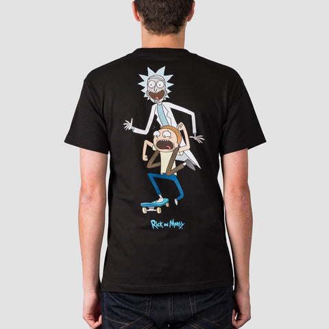 Primitive X Rick & Morty Classic P Skate Tee Black - Clothing