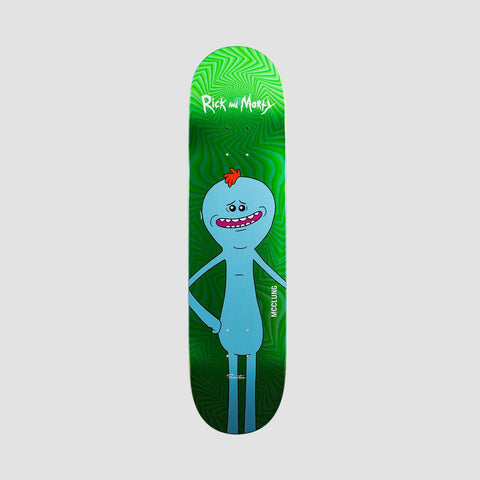 Primitive X Rick & Morty McClung Mr Meeseeks Deck Green Foil - 8""