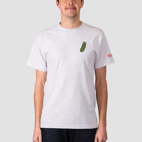 Primitive X Rick & Morty Pickle Rick Tee Ash Heather