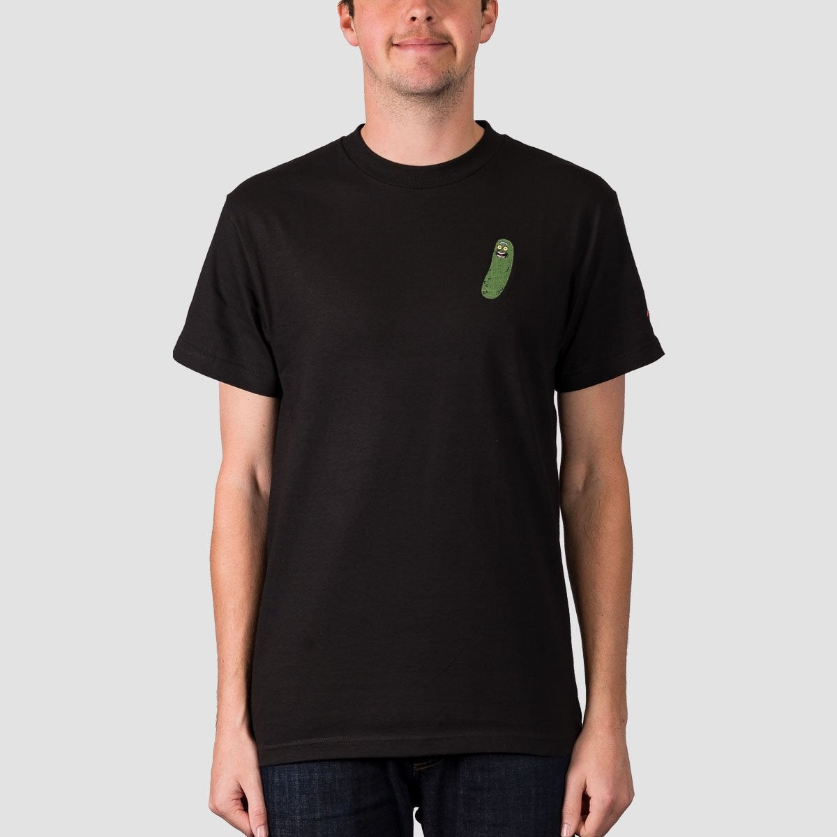 Primitive X Rick & Morty Pickle Rick Tee Black - Clothing