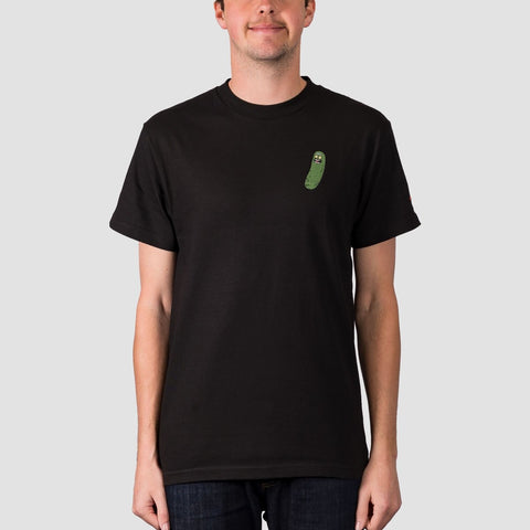 Primitive X Rick & Morty Pickle Rick Tee Black