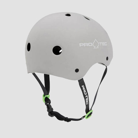 Pro-Tec Classic Certified Helmet Matte Light Grey - Safety Gear