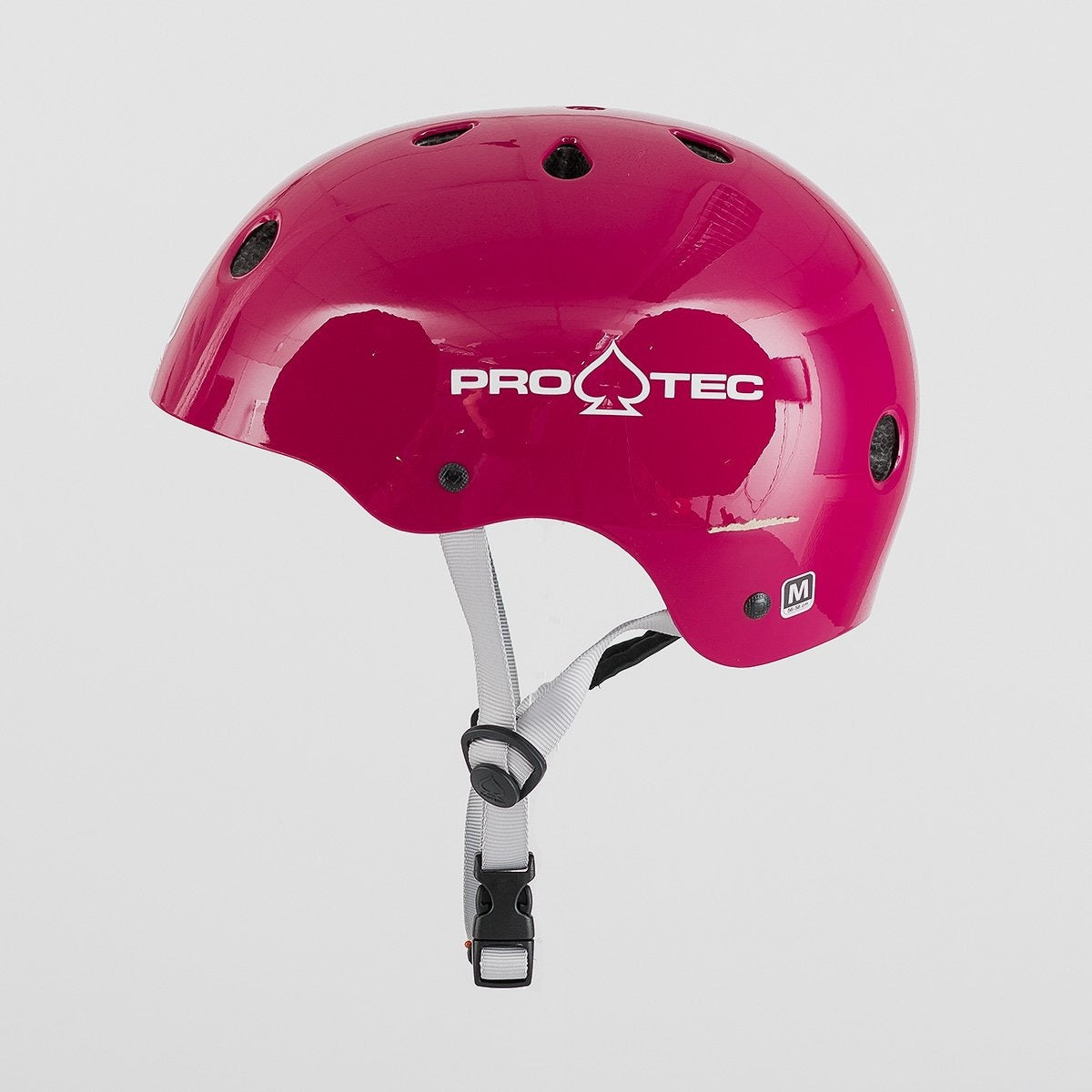 Protec Classic Certified Helmet Gloss Eggplant - Safety Gear
