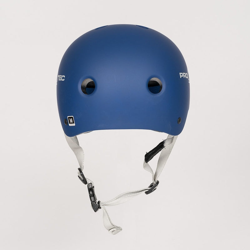 Protec Classic Certified Helmet Matte Blue - Safety Gear