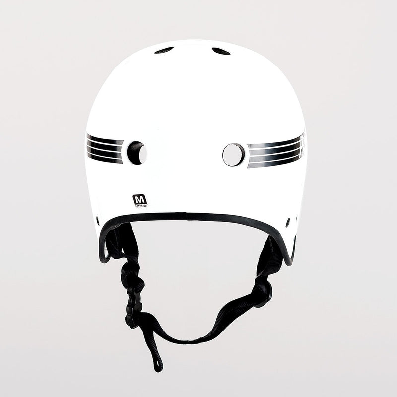 Protec Full Cut Certified Helmet Gloss White - Safety Gear