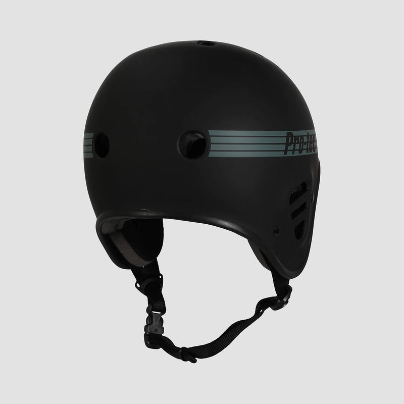 Protec Full Cut Certified Helmet Matte Black - Safety Gear