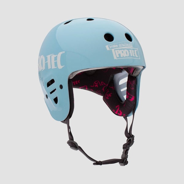 Protec Gonz 2 Full Cut Certified Helmet Light Blue - Safety Gear