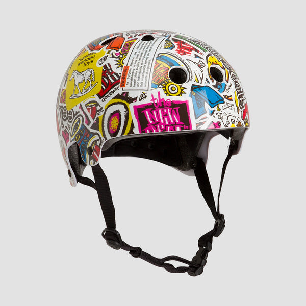 Protec Old School Certified New Deal Helmet Multi