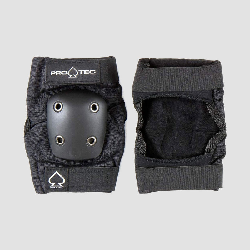 Protec Street Elbow Pads Black - Kids - Safety Gear