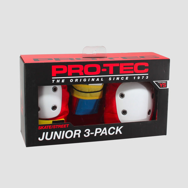 Protec Street Gear Pads 3-Pack Retro - Kids