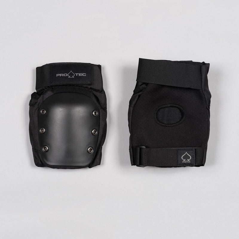 Protec Street Knee Pads Black - Safety Gear