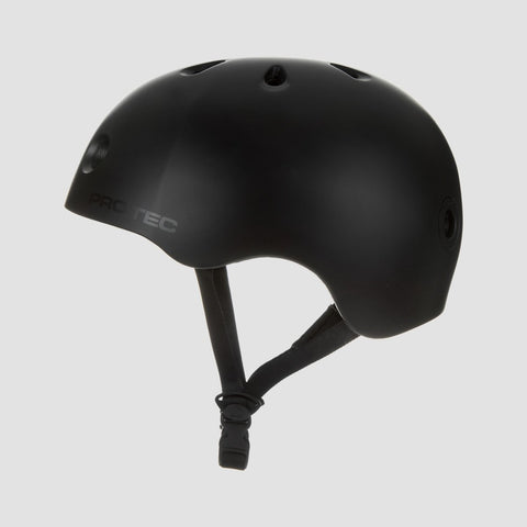 Protec Street Lite Helmet Satin Black - Safety Gear