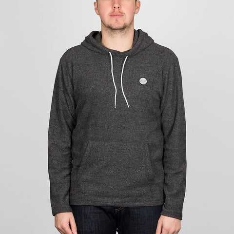 Quiksilver After Surf Pullover Hood Dark Grey Heather