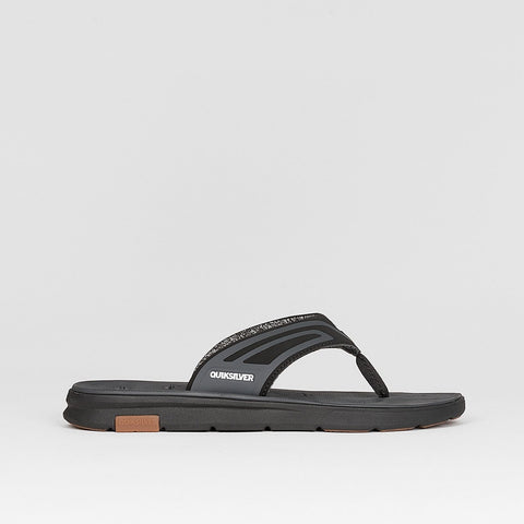 Quiksilver Amphibian Plus Sandals Black/Black/Grey