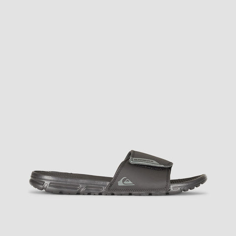 Quiksilver Amphibian Slider Sandals Black/Black/Grey