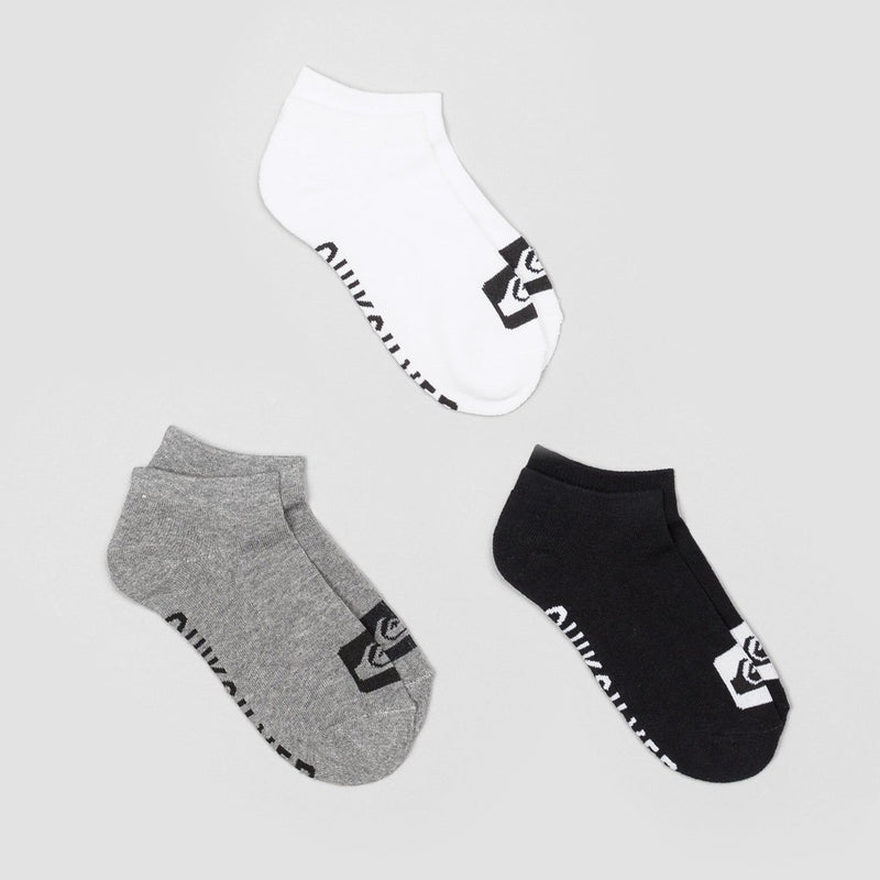 Quiksilver Ankle Socks 3 Pack Assorted - Accessories