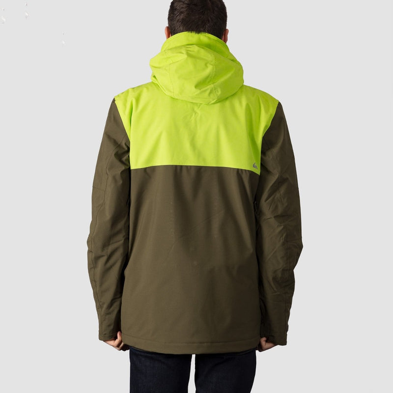 Quiksilver Arrow Wood Jacket Grape Leaf - Snowboard