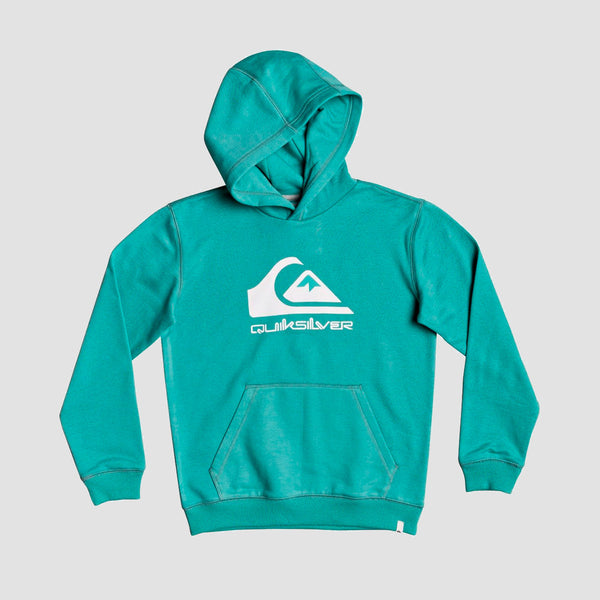 Quiksilver Big Logo Pullover Hood Sea Blue - Kids