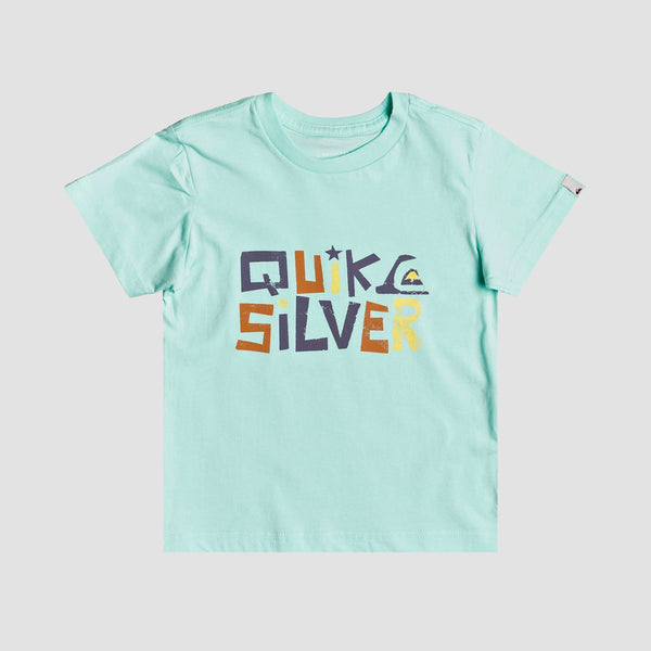 Quiksilver Bigger Picture Tee Beach Glass - Kids