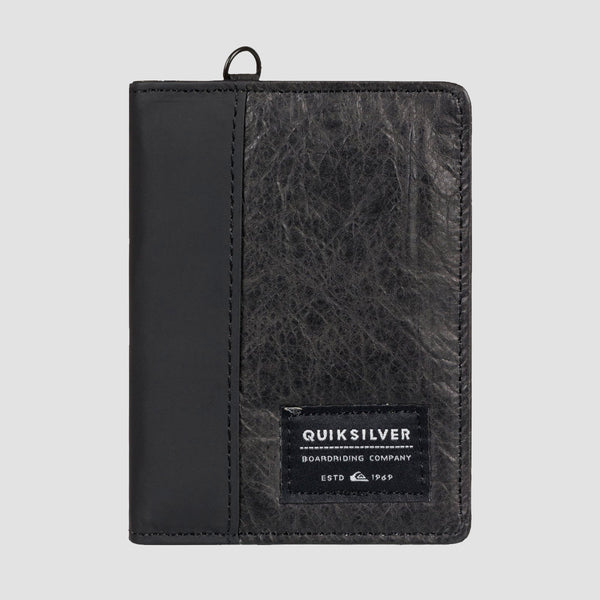 Quiksilver Blackwine Bi-Fold Wallet Black