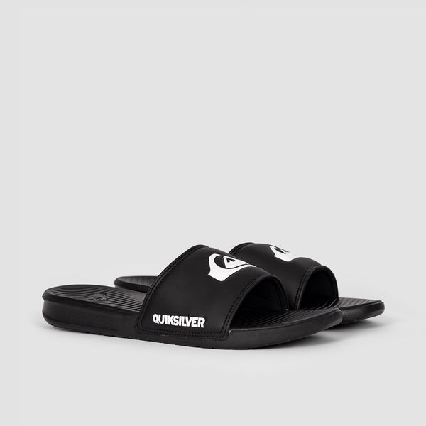 Quiksilver Bright Coast Sliders Black/White/Black