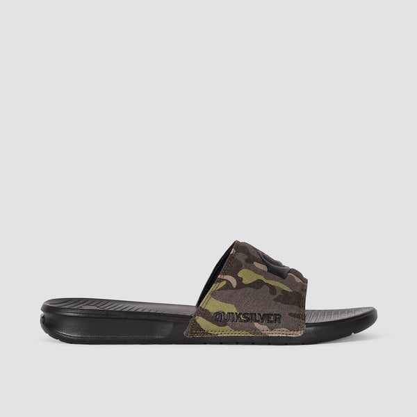 Quiksilver Bright Coast Sliders Green/Brown/Black