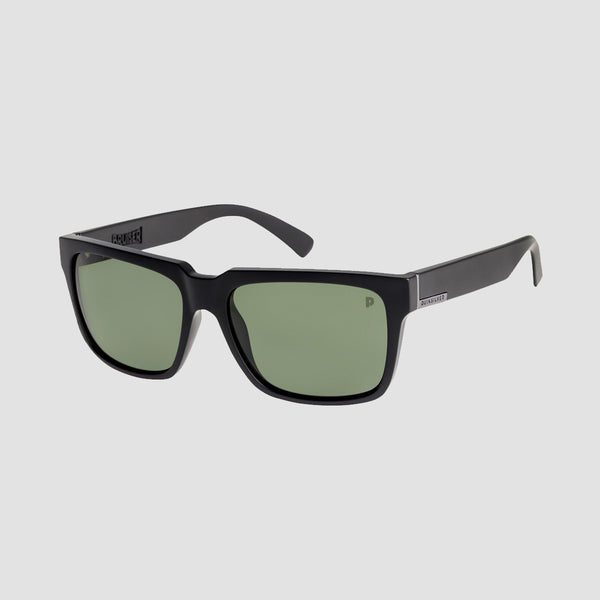 Quiksilver Bruiser Sunglasses Matte Black/Green Polarised