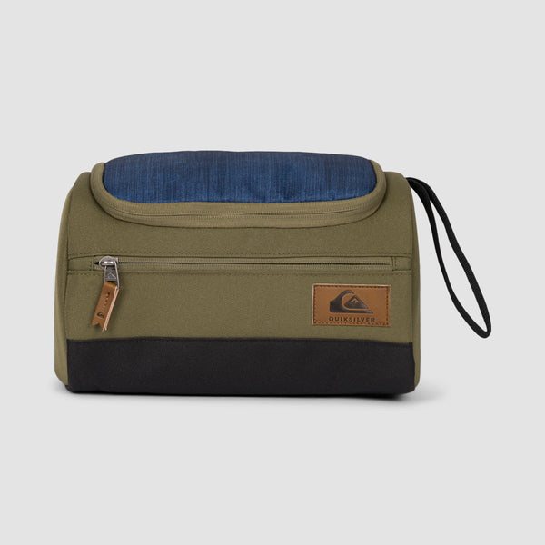 Quiksilver Capsule 6L Wash Bag Burnt Olive