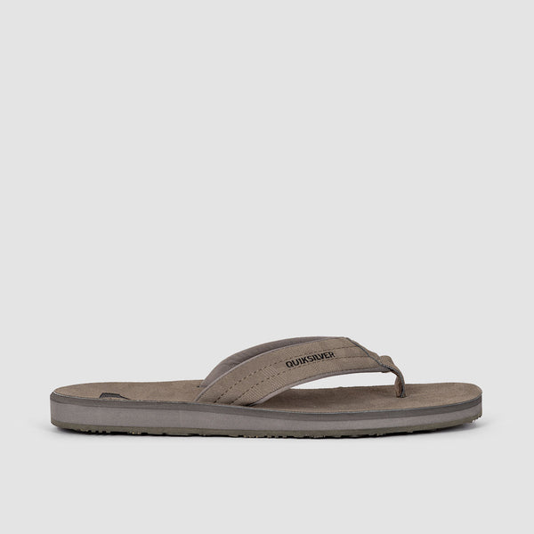 Quiksilver Carver Nubuck Sandals Grey/Grey/Black