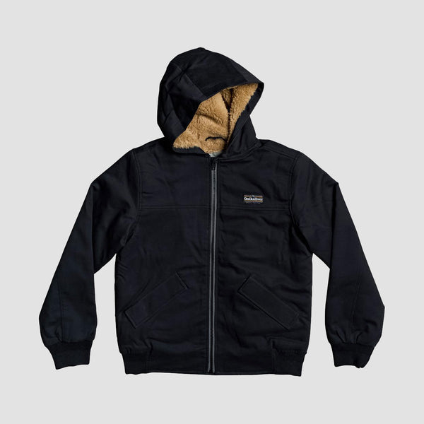 Quiksilver Clarendon Scot Jacket Black - Kids