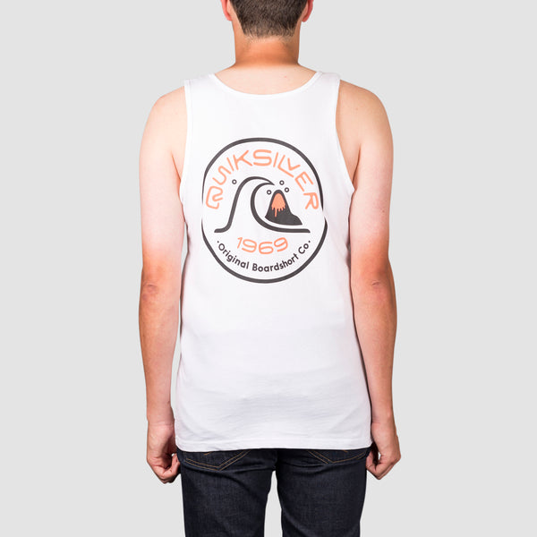 Quiksilver Close Call Tank Vest White