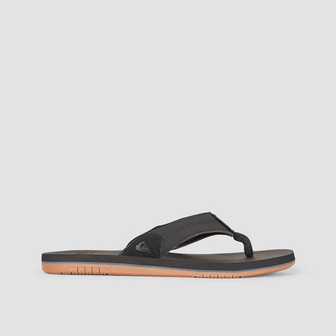 Quiksilver Coastal Oasis Slider Black/Black/Brown