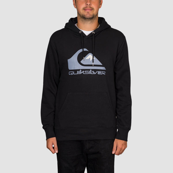 Quiksilver Comp Logo Pullover Hood Black