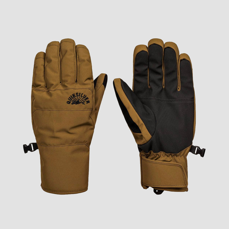 Quiksilver Cross Snow Gloves Military Olive