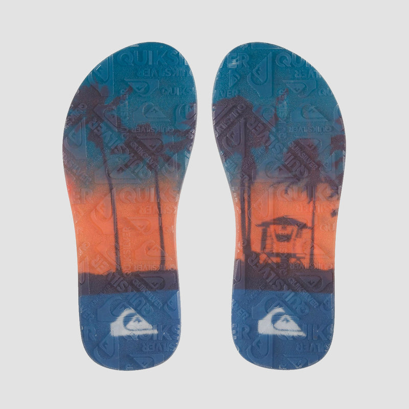Quiksilver Crystal Oasis Sandals Black/Black/Blue