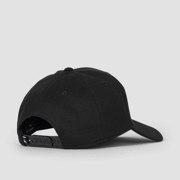 Quiksilver Diamond Wave Decades Cap Black