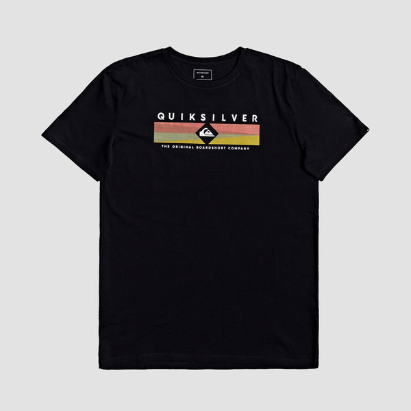 Quiksilver Distant Fortune Tee Black - Kids