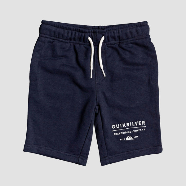 Quiksilver Easy Day Sweat Shorts Navy Blazer - Kids