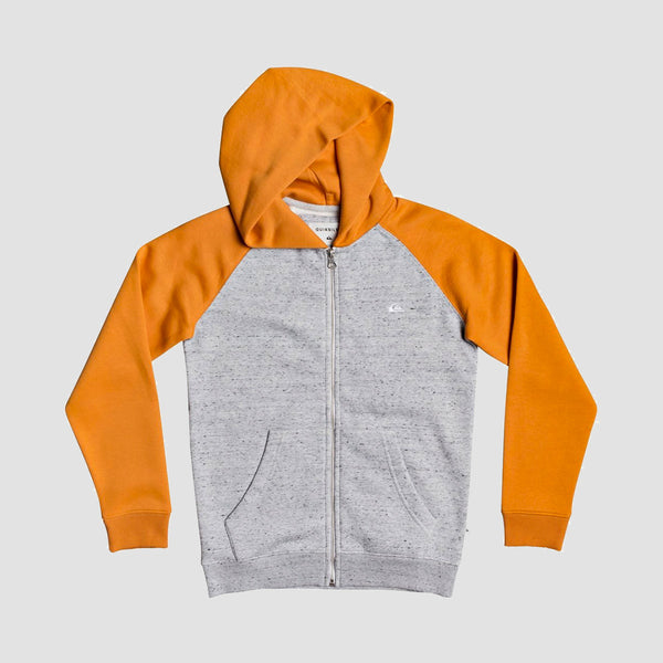 Quiksilver Easy Day Zip Hood Apricot Buff - Kids