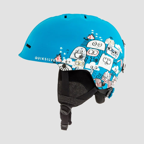 Quiksilver Empire Snow Helmet Animal Part Blue - Kids