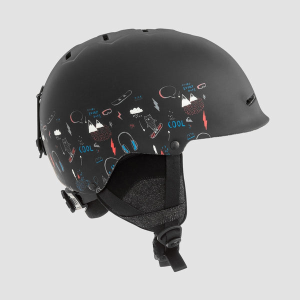 Quiksilver Empire Snow Helmet Maoam Tatt Black - Kids - Snowboard