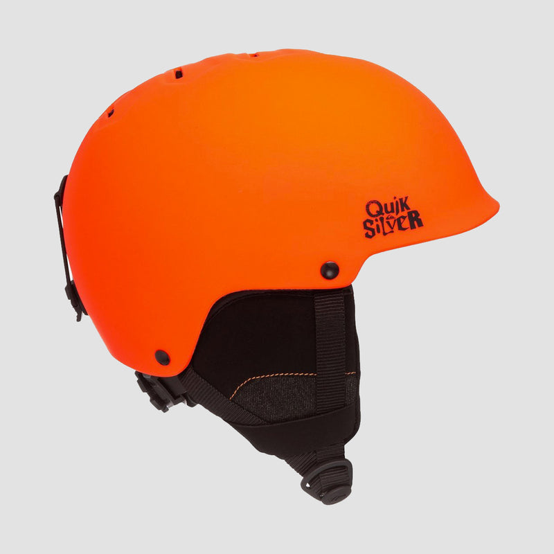 Quiksilver Empire Snow Helmet Neon Orange - Kids