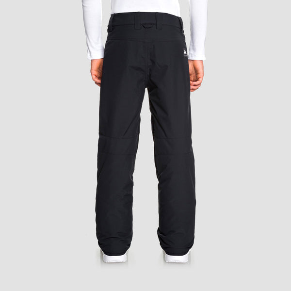 Quiksilver Estate Snow Pants Black - Kids